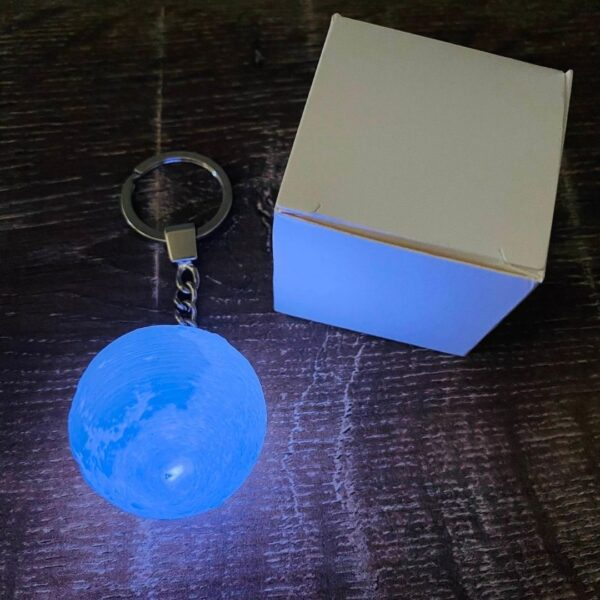 Moon Light Key Ring ON with box